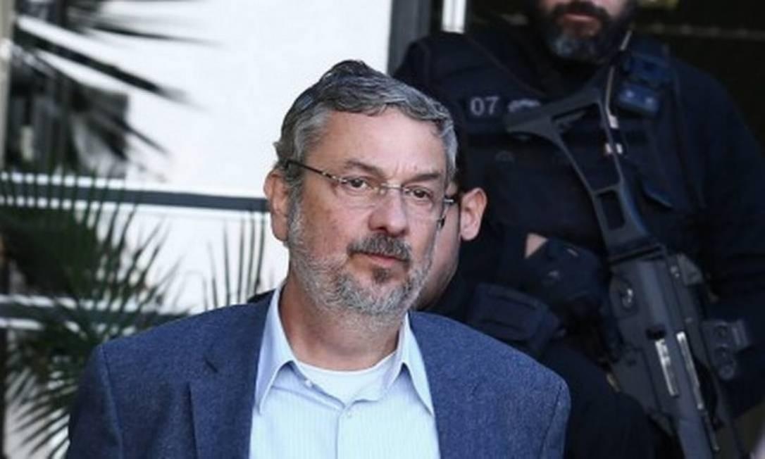 O ex-ministro Antonio Palocci Foto: Geraldo Bubniak / Geraldo Bubniak