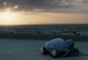 Cena do filme 'Zaatari - Memórias do labirinto' Foto: Divulgação