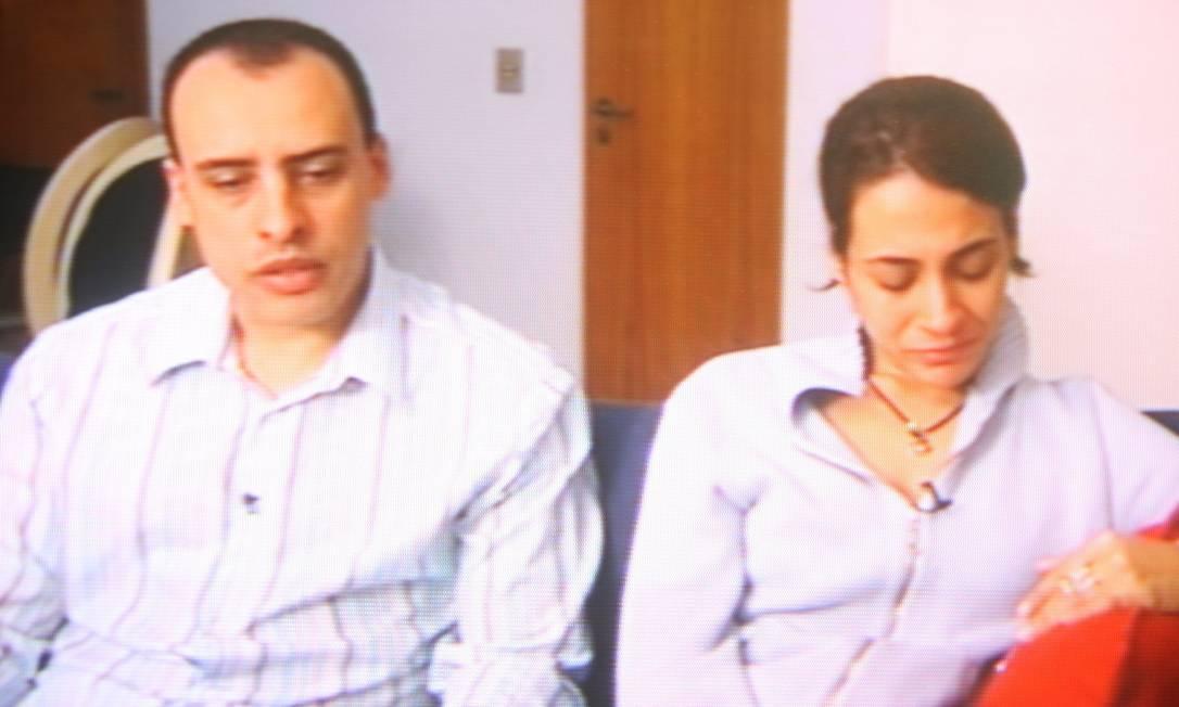 Alexandre Nardoni e Anna Carolina Jatobá foram condenados a 30 e 26 anos de prisão, respectivamente, pela morte da menina Isabela, em 2008 Foto: Reprodução/TV Globo (20/04/2008