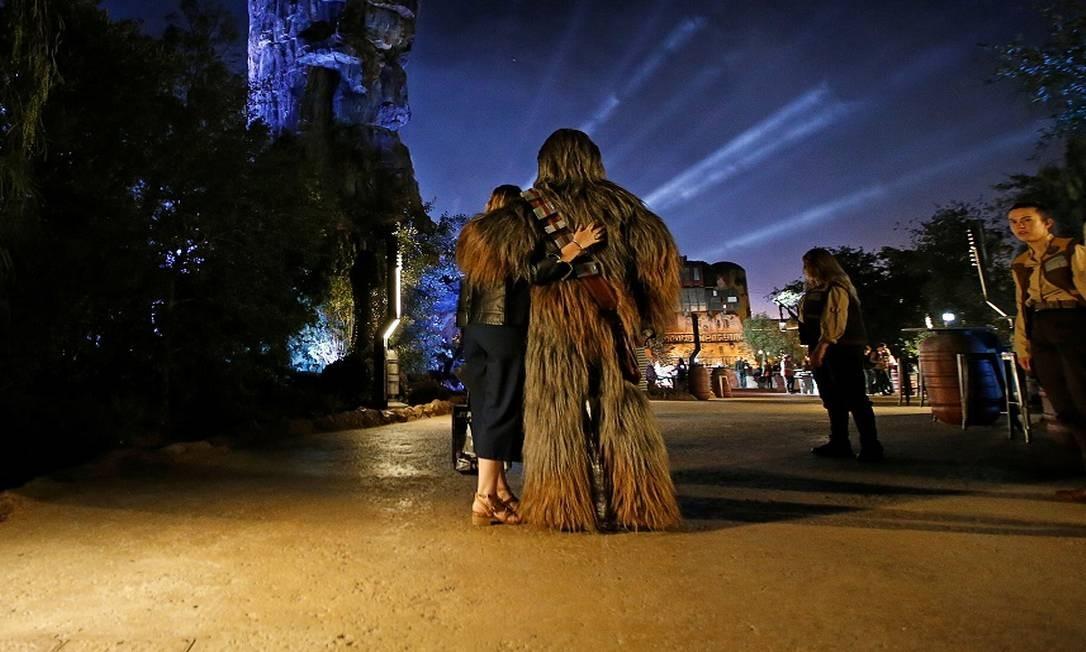 E Chewbacca, claro Foto: MARIO ANZUONI / REUTERS