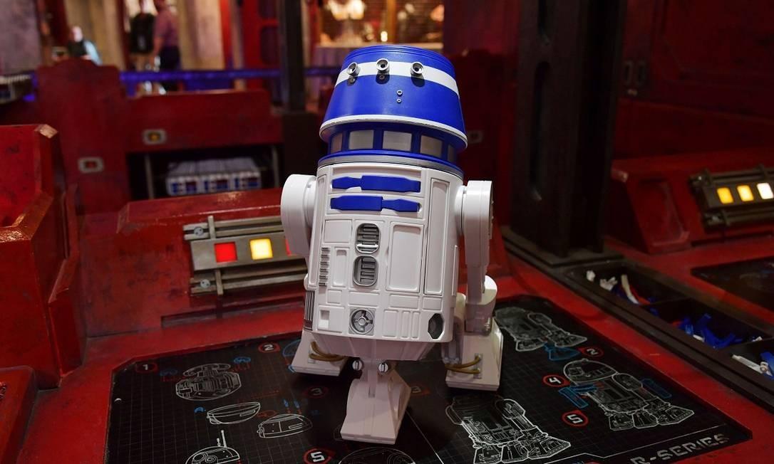 Na loja Droid Depot, clientes poderão montar seus próprios robozinhos Foto: Amy Sussman / AFP