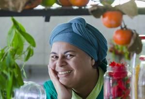 Regina Tchelly, do Favela Orgânica Foto: Leo Martins/Agência O Globo