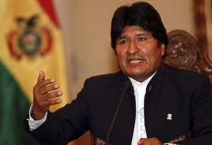 O presidente da Bolívia, Evo Morales Foto: José Luis Quintana / LatinContent/Getty Images