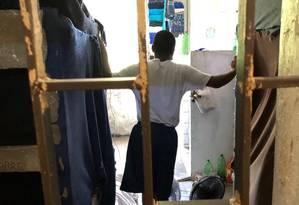 Jovens cumprem medidas em unidades superlotadas e em péssimas condições Foto: Divulg~ção