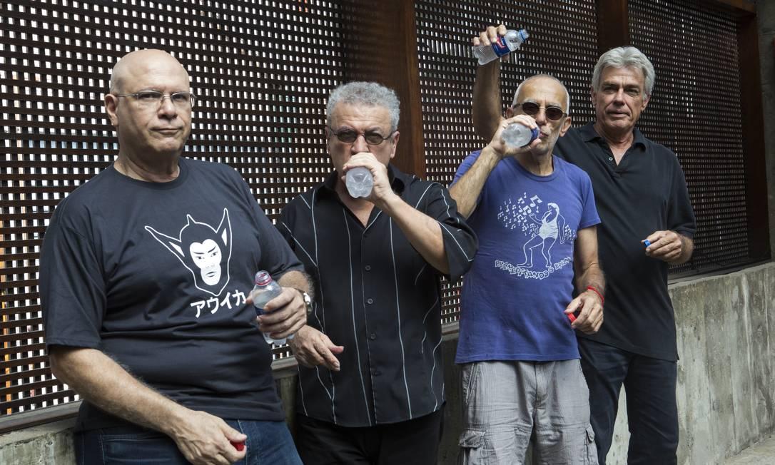 O grupo paulistano Premê, em 2019 Foto: Alexandre Nunis / Divulgação