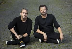 Sergio Conde Caldas e Miguel Pinto Guimarães Foto: Leo Aversa