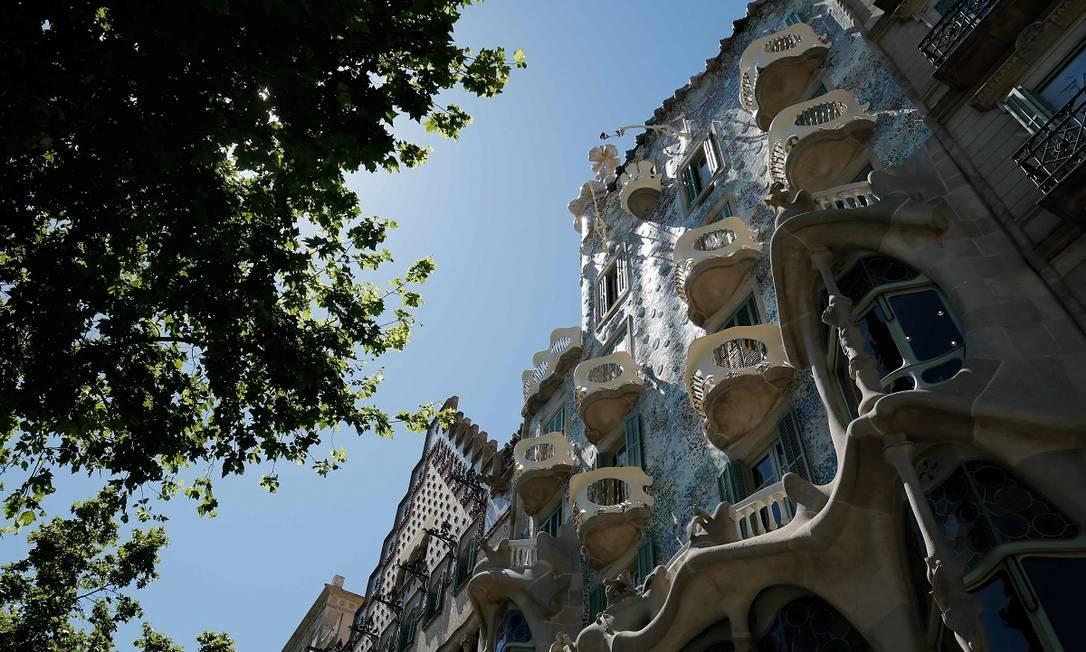 O prédio é considerado Patrimônio da Humanidade pela Unesco Foto: PAU BARRENA / AFP