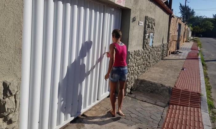 Andrea Siqueira Valle, a fisiculturista que vive de faxina Foto: Juliana Dal Piva/Agência O Globo