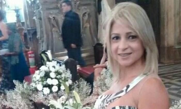 A mulher de Queiroz, Marcia Aguiar, foi nomeada no gabinete de Flávio em 2007 e lá ficou até 2017 Foto: Reprodução