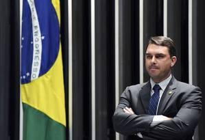 O Senador Flávio Bolsonaro 14/03/2019 Foto: Jefferson Rudy/ Agência Senado