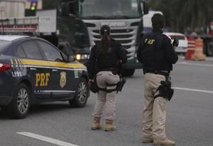 Suspenso: Valores congelados da Polícia Rodoviária chegam a R$ 111 milhões Foto: Cléber Júnior / Agência O Globo