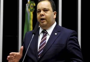 Líder do Democratas na Câmara, Elmar Nascimento, é autor de uma emenda que retira estados e municípios da reforma da Previdência Foto: Alex Ferreira