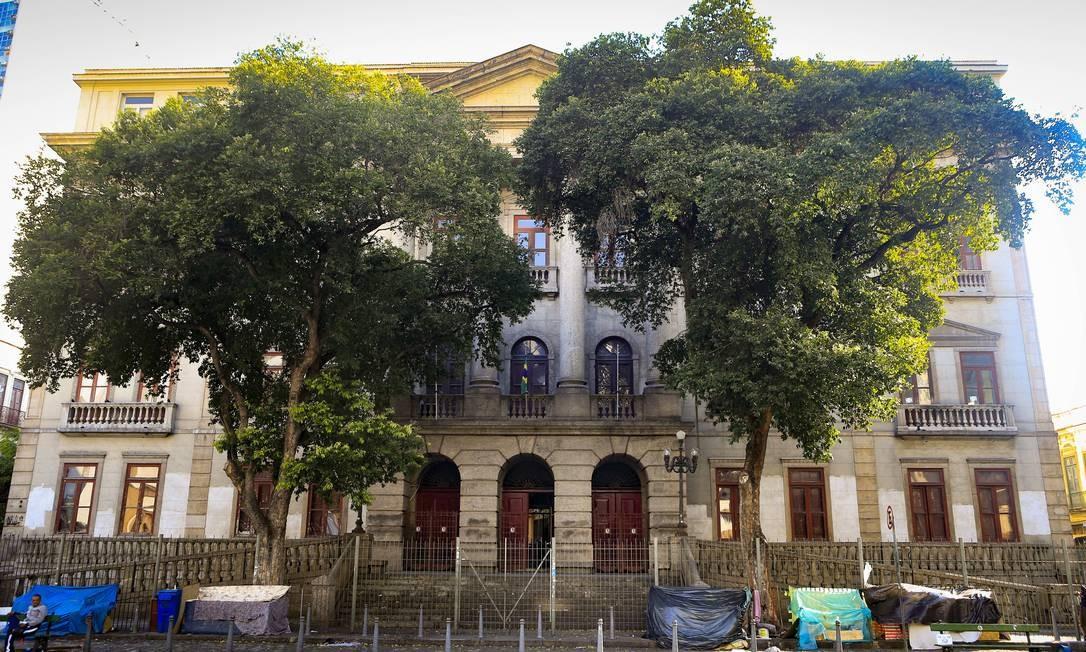 Na foto, Instituto de Filosofia e Ciências Sociais, no Largo São Francisco de Paula, 1, Centro Foto: Roberto Moreyra / Agência O Globo