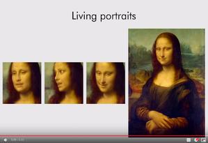 Inteligência artificial dá vida a Mona Lisa e assusta checadores Foto: Reprodução
