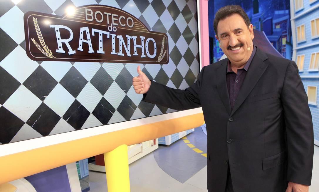 O apresentador do SBT, Ratinho Foto: Lourival Ribeiro / Lourival Ribeiro
