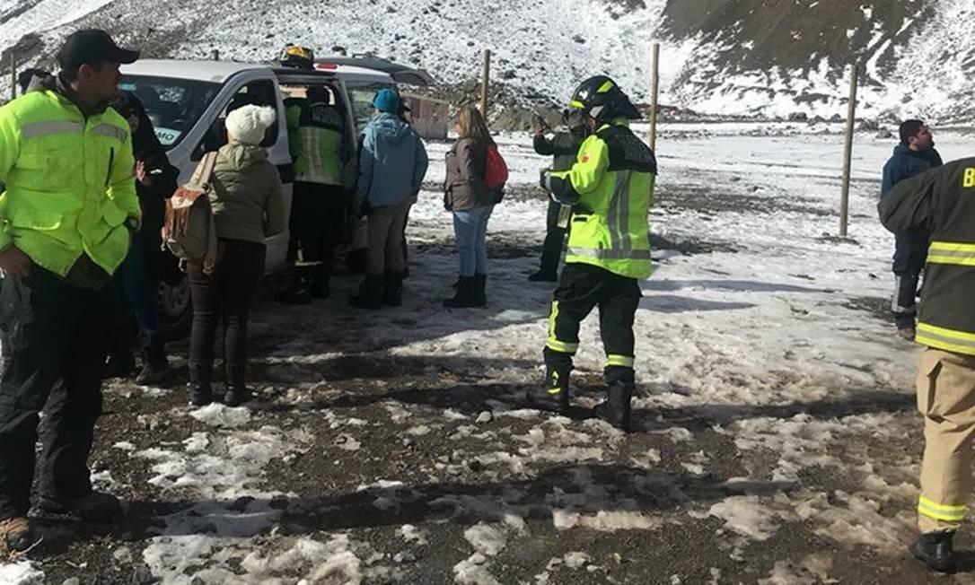 Duas crianças brasileiras morrem durante passeio turístico no Chile Foto: Reprodução