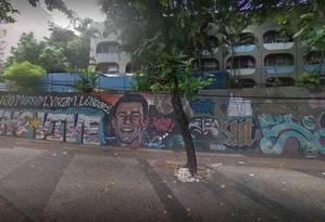 Escola foi invadida e teve objetos levados Foto: Reprodução / Google Streetview