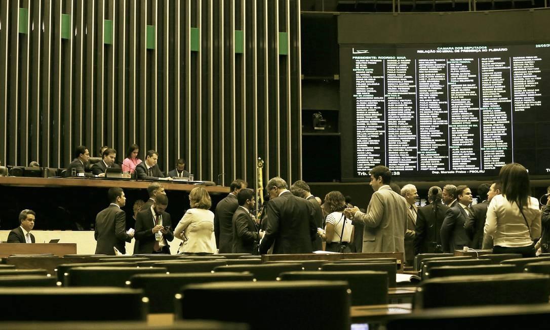 Plenário da Câmara dos Deputados 28/05/2019 Foto: Jorge William / Agência O Globo