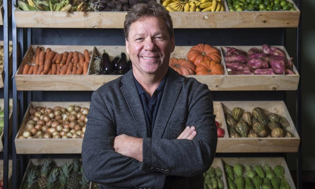 Claude Troigros apresenta o novo reality culinário da TV Globo, 'Mestre do sabor' Foto: Fábio Rocha / TV Globo