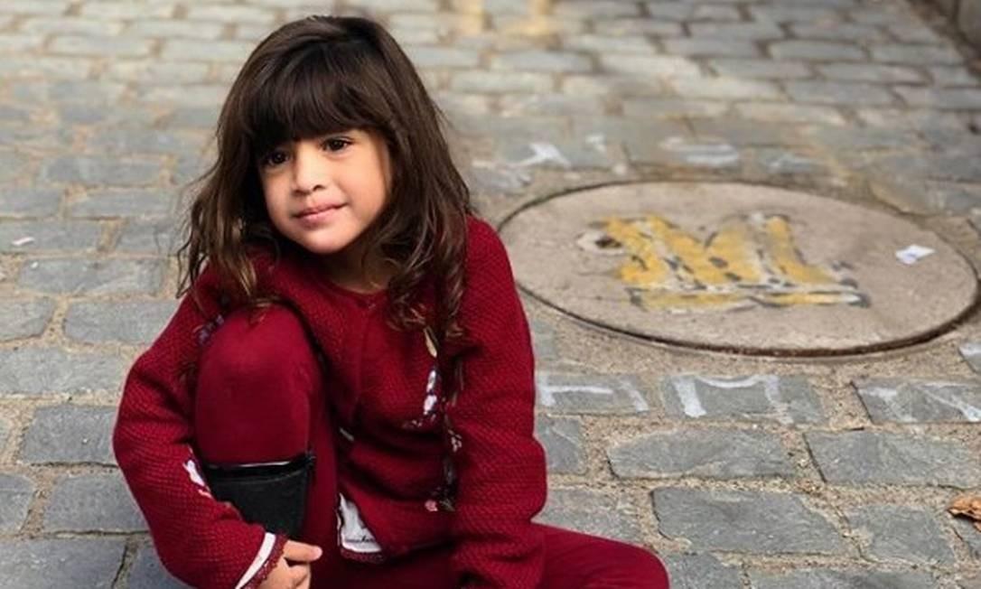 """Mãe publicou foto com declaração para menina Khálida na véspera de tragédia em montanha no Chile: """"Meu tudo"""", escreveu no post Foto: Reprodução/Instagram"""