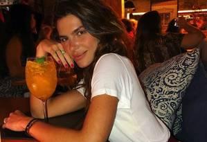 A apresentadora e modelo Mariana Goldfarb Foto: Reprodução/ Instagram