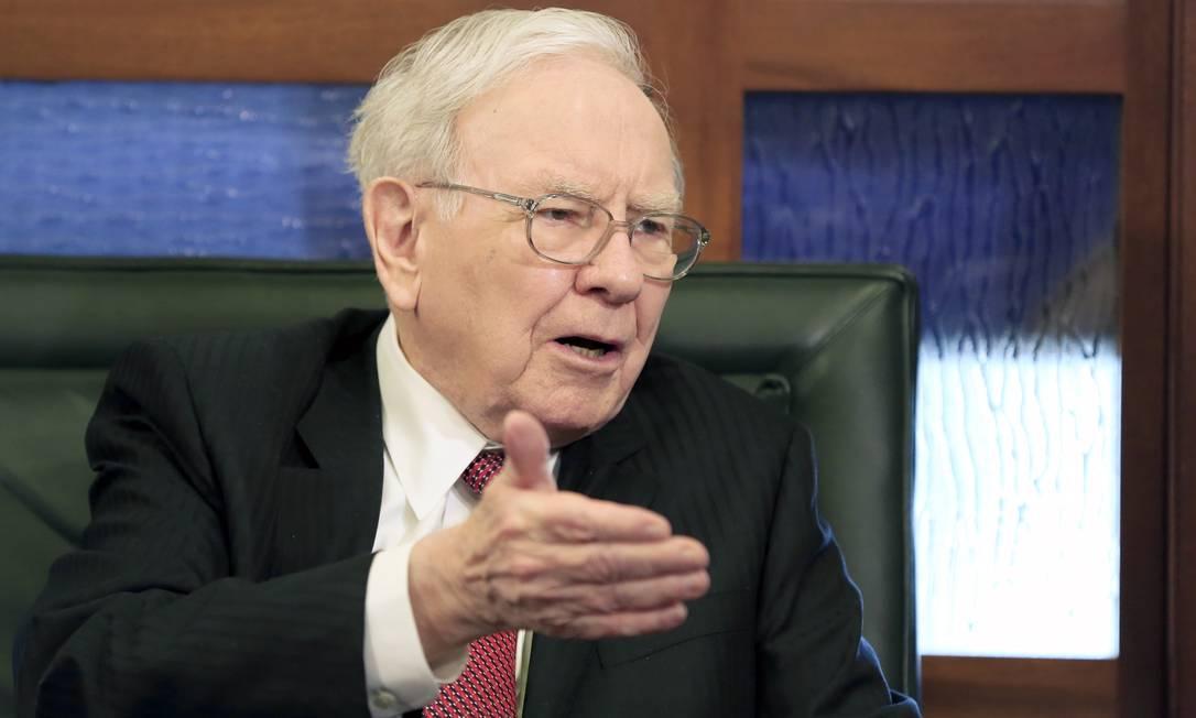 Warren Buffet: atraído para esquema de Ponzi por casal. Foto: Nati Harnik / AP