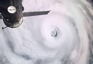 Dados sobre vapor d'água na atmosfera são importantes para a previsão de furacões Foto: Douglas H. Wheelock / Nasa