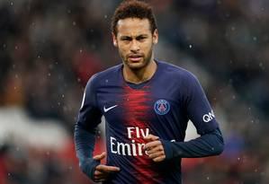 PSG ainda não se pronunciou sobre acusação contra Neymar Foto: LIONEL BONAVENTURE / AFP