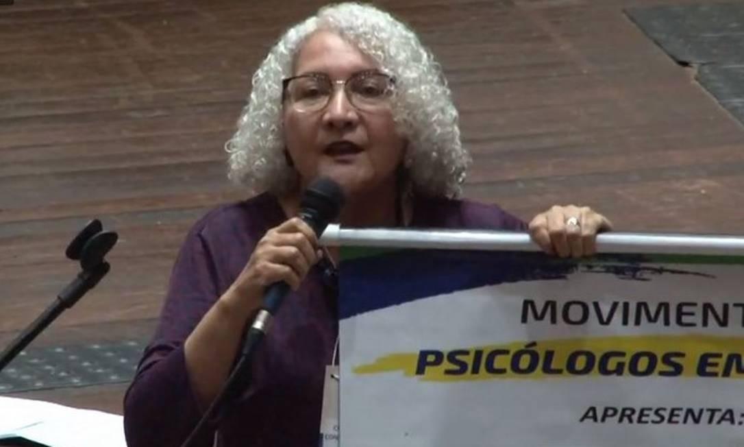 A psicóloga Rozangela Alves Justino já foi punida em 2009 pela terapia de 'reversão sexual' Foto: Aender Borba / Reprodução/ Facebook