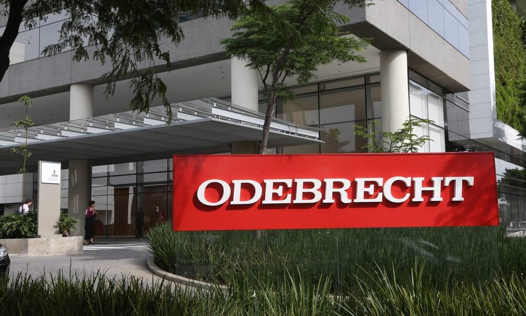 Sede da Odebrecht: BB e BNDES sem planos de antecipar pagamento de débitos da empresa. Foto: Marcos Alves / Agência O Globo