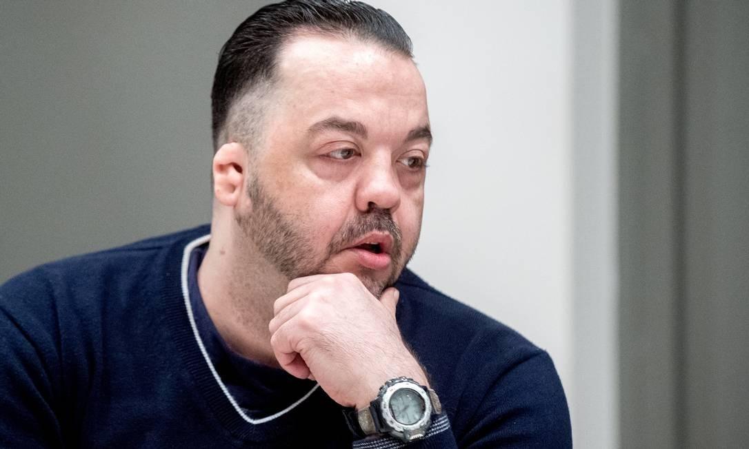 Niels Höegel, no dia em que recebeu sua sentença Foto: Hauke-Christian Dittrich / REUTERS