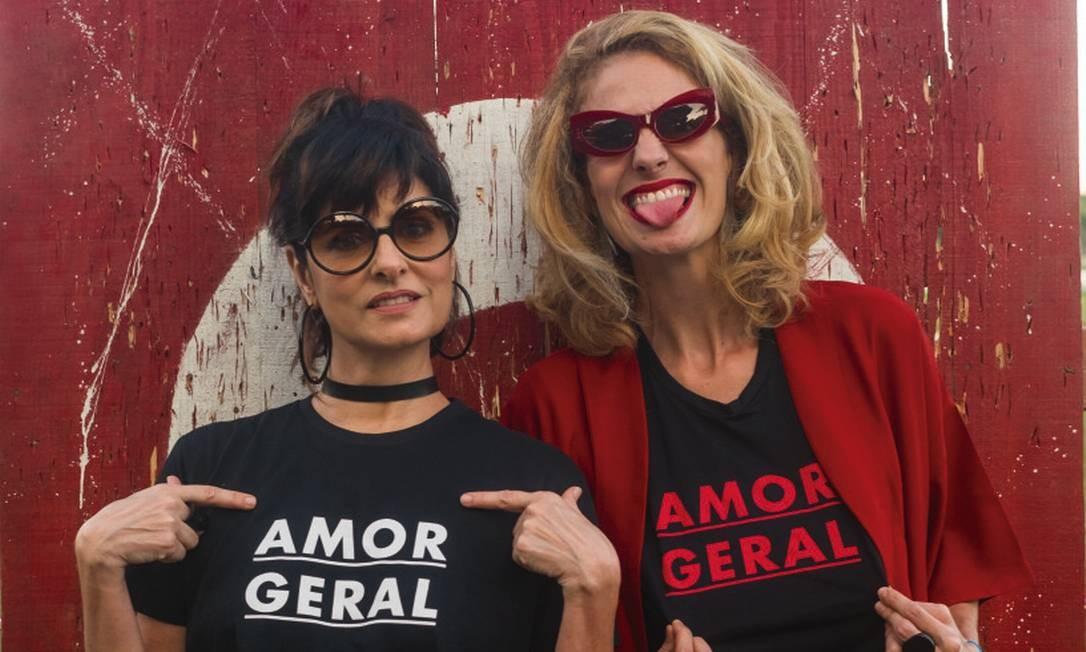 Fernanda Abreu e Letrux Foto: João Cabral / Divulgação