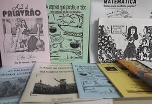 Cordelteca. Biblioteca tem espaço dedicado ao gênero literário Foto: Divulgação