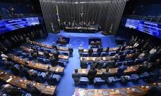 Plenário do Senado Federal Foto: Edilson Rodrigues / Edilson Rodrigues/Agência Senad