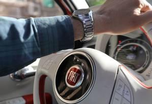 Carro da Fiat Chrsler: ítalo-americana não aguentou exigências de Paris. Foto: MOHAMED ABD EL GHANY / REUTERS
