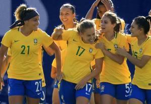 Seleção brasileira busca título inédito na França Foto: Site oficial da seleção