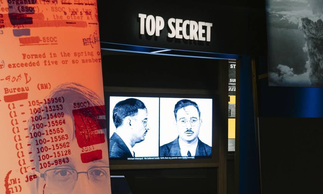 Um dos espaços do Museu da Espionagem Foto: JUSTIN T. GELLERSON / The New York Times