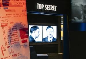 Um dos espaços do Museu da Espionagem Foto: JUSTIN T. GELLERSON / NYT