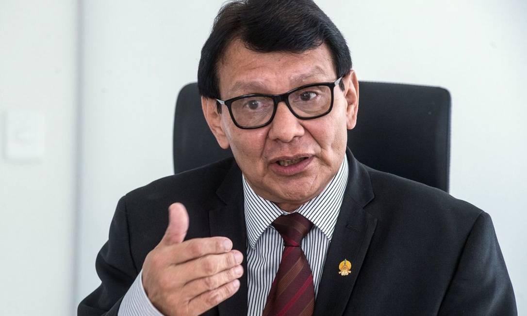 Opresidente da Fundação Nacional do Índio (Funai), Franklimberg Ribeiro de Freitas Foto: Divulgação