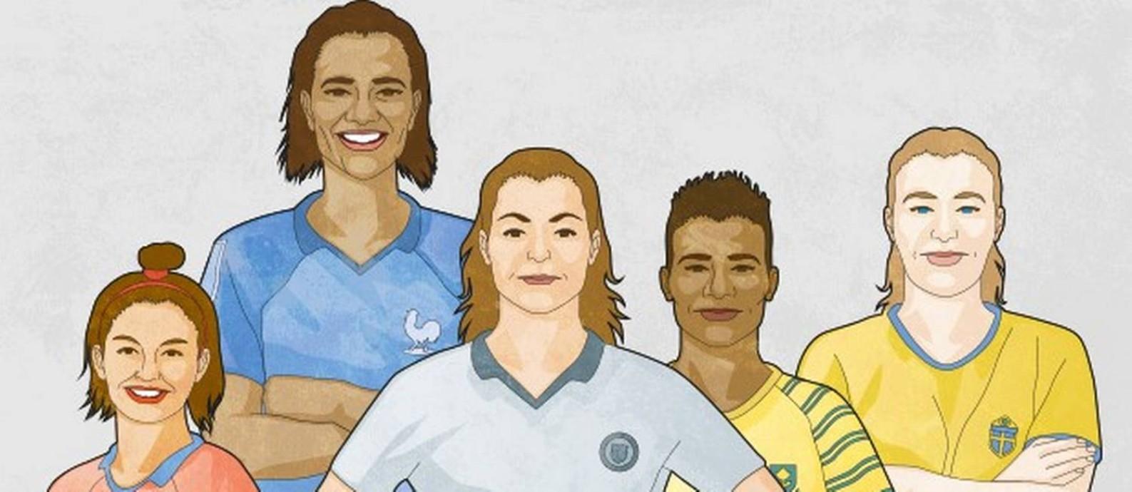 Copa do Mundo Feminina começa nesta sexta-feira Foto: O Globo