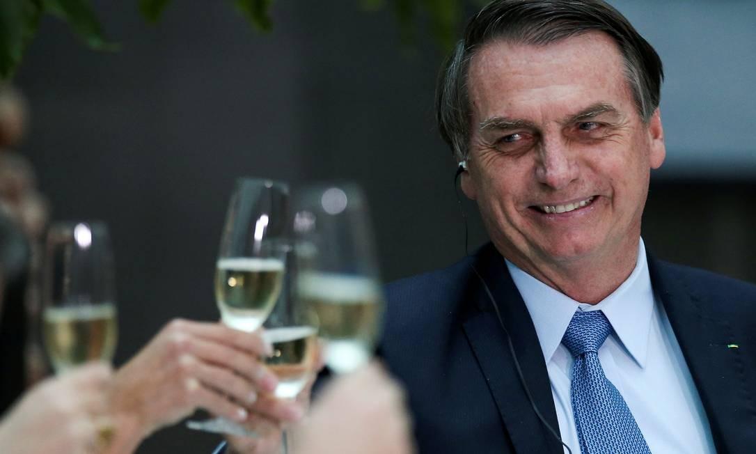 Presidente Jair Bolsonaro está em visita oficial à Argentina Foto: Agustin Marcarian / Reuters