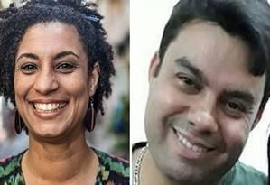 Vereadora Marielle Franco e motorista Anderson Gomes: mortos no Estácio em março de 2018 Foto: Reprodução