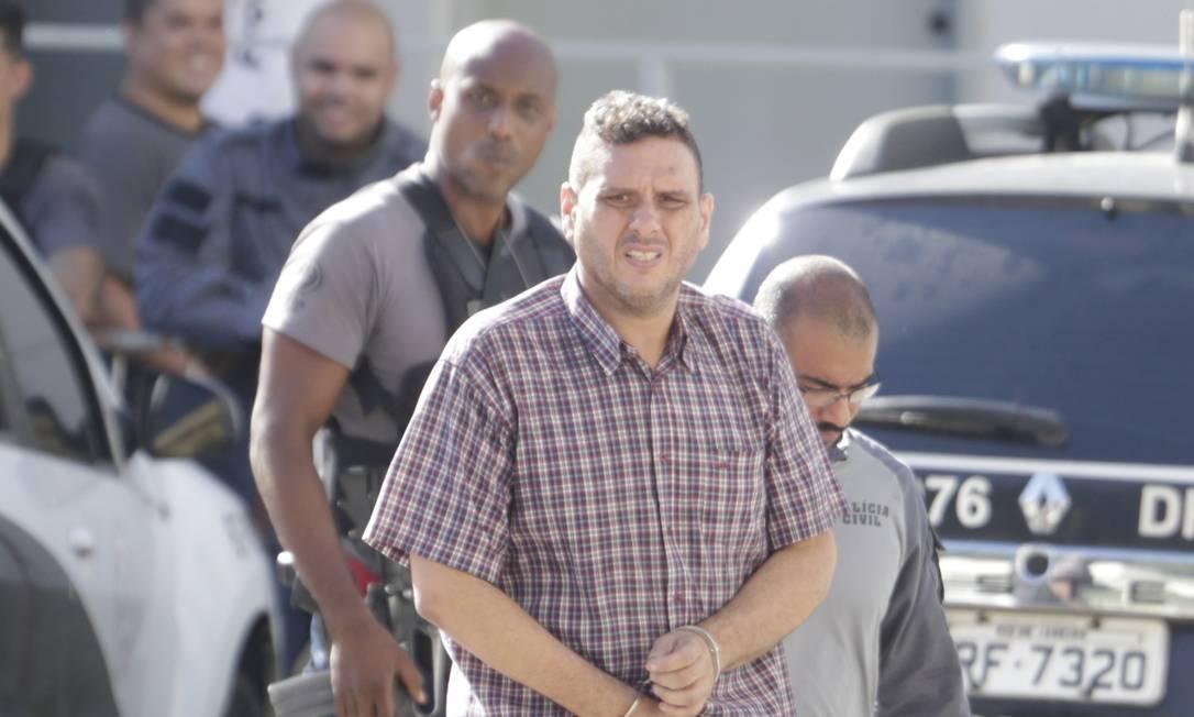 Na Operação Lume, também foi preso Alexandre Motta, solto posteriormente pela Justiça Foto: Márcio Alves / Agência O Globo