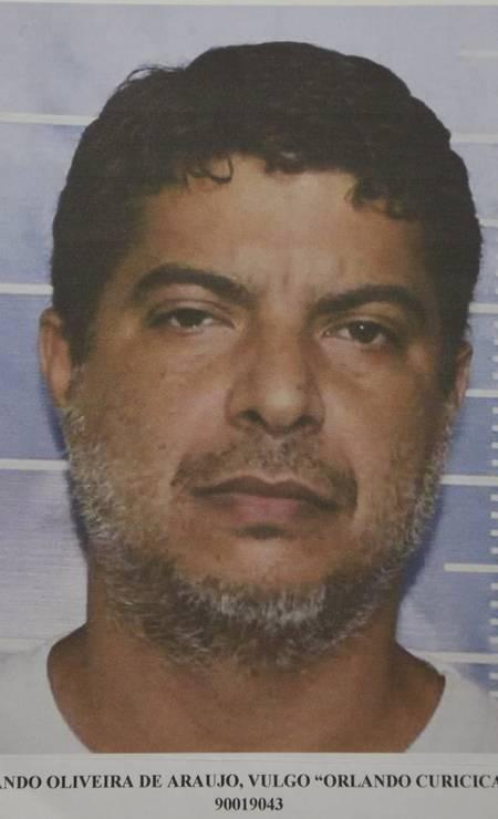 Orlando Oliveira de Araújo, o Orlando Curicica, é acusado de comandar milícia que atua em Jacarepaguá, Zona Oeste do Rio. Foi apontado pelo PM Ferreirinha como um dos mandantes das mortes de Marielle e Anderson Foto: Reprodução / Reprodução