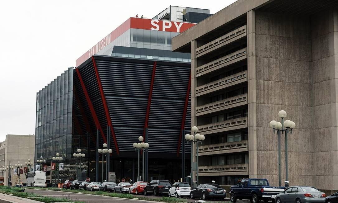 O novo prédio do Museu Internacional da Espionagem, construído na capital americana a um custo de US$ 162 Foto: Justin T. Gellerson / The New York Times