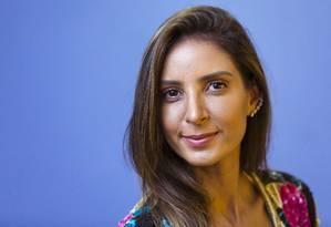 Flavia Sampaio: empresária pilota um serviço de aluguel de vestidos de festa Foto: Leo Martins