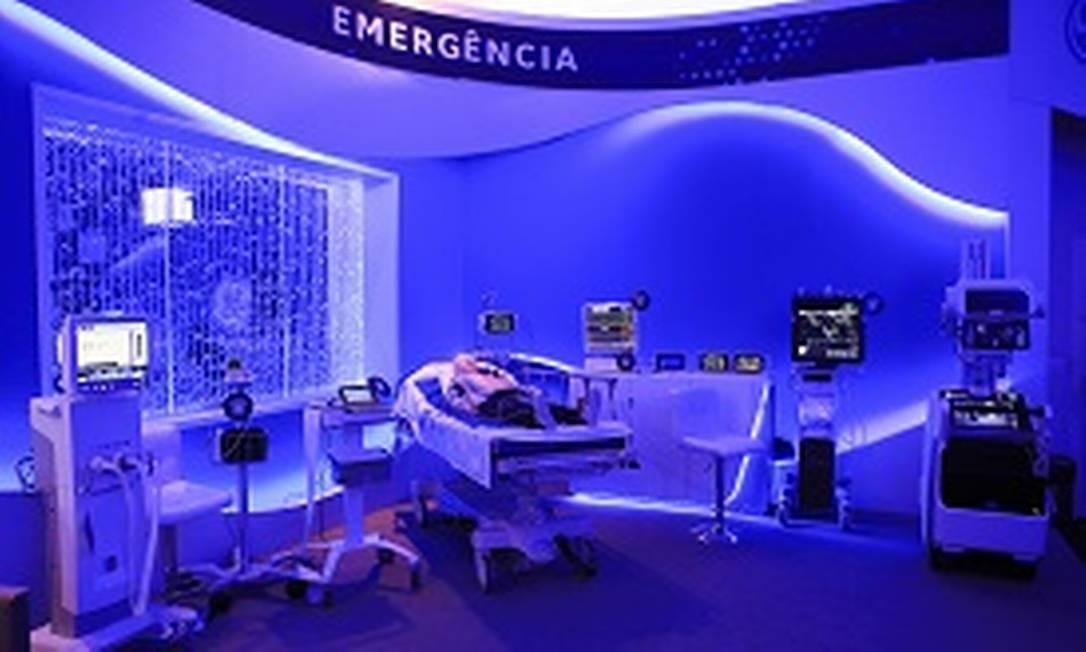 Equipamentos da GE para o setor médico Foto: Divulgação