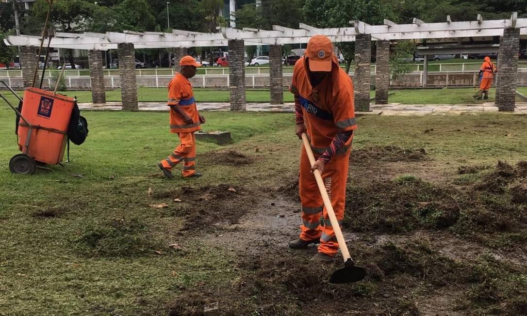 Revitalização na Praça Grécia, no Jardim de Alah Foto: Divulgação