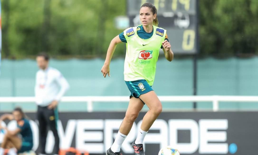 Érika não disputará a Copa do Mundo pelo Brasil Foto: Divulgação/CBF