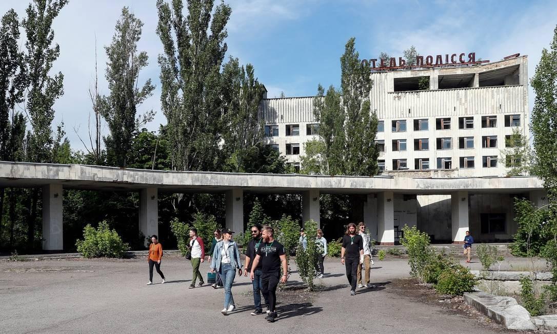 Mais uma imagem da cidade-fantasma de Pripyat Foto: VALENTYN OGIRENKO / REUTERS